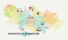 Copy of Creativiteit In de Marketing