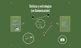 Tácticas y Estrategias