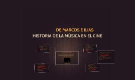 HISTORIA DE LA MÚSICA EN EL CINE