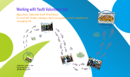 Working with Youth Volunteers 101