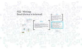 FCE - Email (FormalxInformal)
