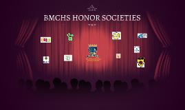 BMCHS HONOR SOCIETIES