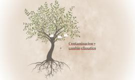 Contaminacion y cambio climatico