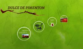 DULCE DE PIMENTON