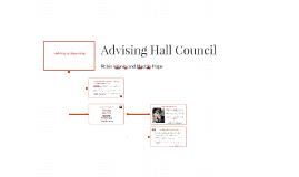 Advising Hall Council