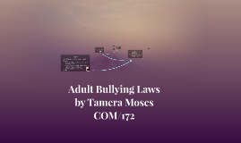 Adult Bullying Laws