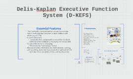 Copy of Delis Kaplan Executive Function System (D-KEFS)