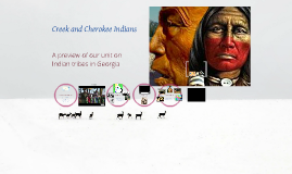 Creek and Cherokee Indians