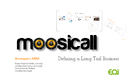 Long Tail Businesses - Moosicall