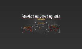 Copy of Panlahat na Gamit ng Wika
