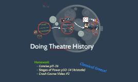 (intro) Doing Theatre History
