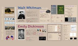 AP Lang: Whitman & Dickinson