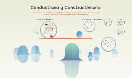 Conductismo y Constructivismo