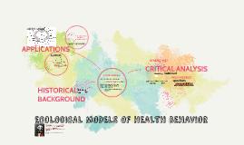 Ecological models of health behavior