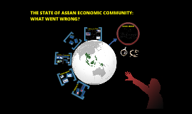 THE STATE OF ASEAN ECONOMIC COMMUNITY: WHAT WENT WRONG?