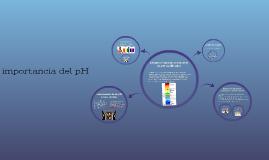 importancia del pH