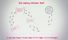 Did Johnny Murder Bob?