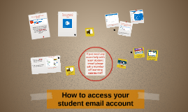 How to access your student email account