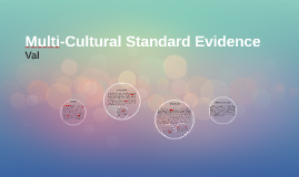 Multi-Cultural Standard Evidence