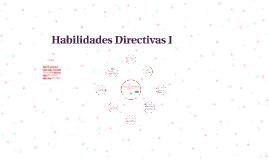 Habilidades Directivas I