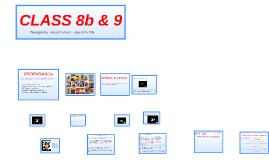 CLASS 8b & 9