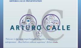 ARTURO CALLE PRESENTATION