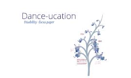 EDUC 560 disability paper