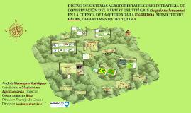 DISEÑO DE SISTEMAS AGROFORESTALES COMO ESTRATEGIA DE CONSERV