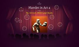 Hamlet in Act 4