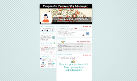 Propuesta Community Manager
