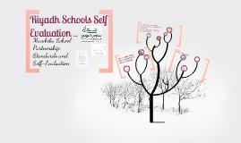Riyadh Schools; Self Evaluation