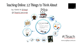 Teaching Online: 12 Things to Think About