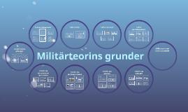 Militärteorins grunder