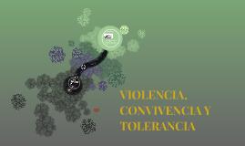 VIOLENCIA, CONVIVENCIA Y TOLERANCIA