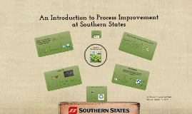 Introduction to Process Improvement and 5S at SSC