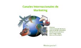 Canales internacionales de Marketing