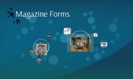 Magazine Forms