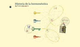 Copy of Historia de la hermenéutica