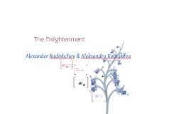 russian enlightenment & sentimentalism