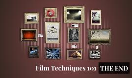 Film Techniques 101