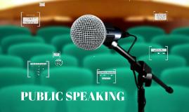 Copy of Copy of Public Speaking