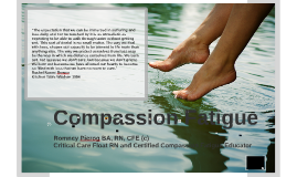 Compassion Fatigue for Child and Youth Workers