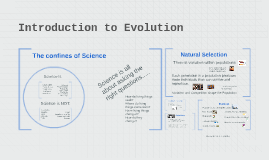 Introduction to Evolution