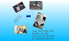LA MIGRACION EN MEXICO