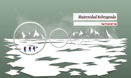 Maternidad Subrograda