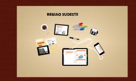 REGIAO SUDESTE