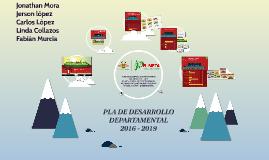 PLA DE DESARROLLO DEPARTAMENTAL