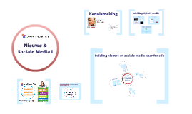 Training Nieuwe & Sociale Media 1