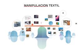 MANIPULACION TEXTIL