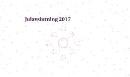 Julavslutning 2017